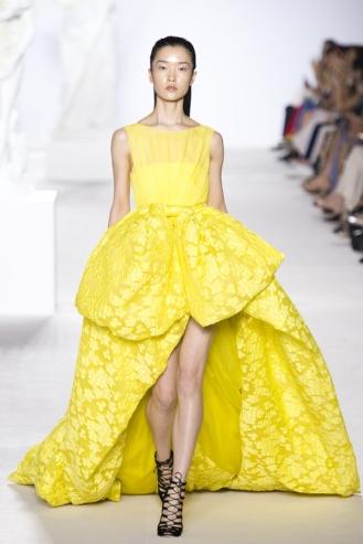 Surprising yellow...
