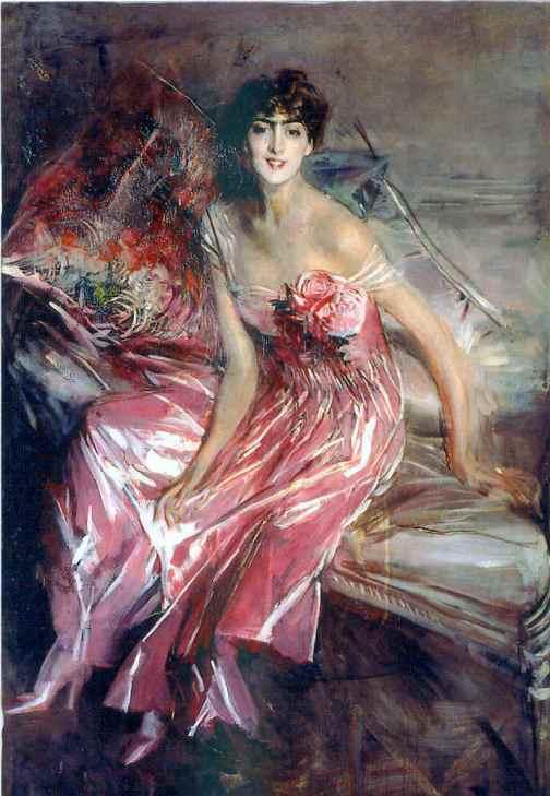Olivia Concha de Fontecilla by Boldini
