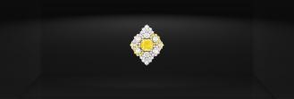 Etincelante Diamant Jaune ring shot by Dior