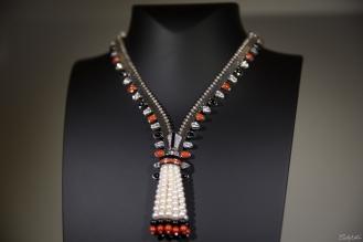 Zip Elegance necklace