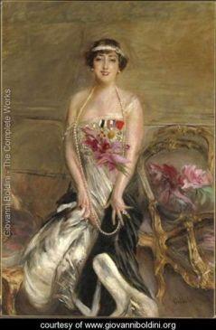 Lady Michelham by Boldini