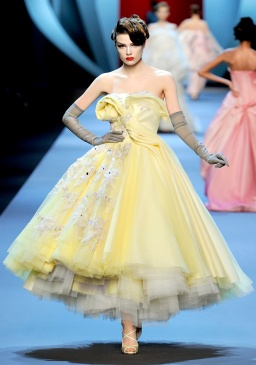Peek of his carrer: the SS 2012 collection inspired by Gruau... so dior, so glamourous!