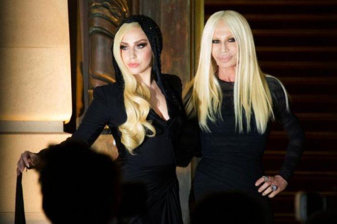 Gaga and Versace