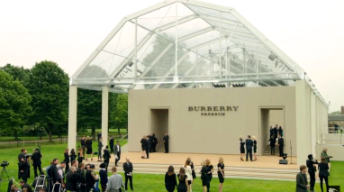 Burberry shows - biggest events during London Fashion Week