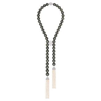 Collier Perles de Nuit
