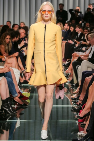 This is totally Mr Ghesquiere's sense of style for Vuitton