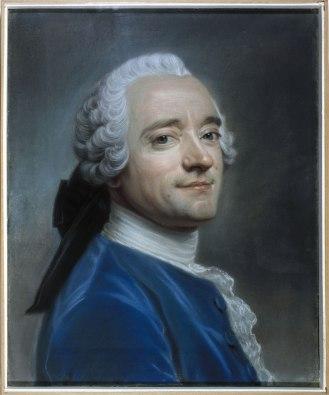 Maurice Quentin de La Tour (1704-1788), Autoportrait au jabot de dentelle, Pastel, vers 1750. Paris, musée Cognacq-Jay © Musée Cognacq-Jay / Roger-Viollet