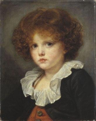Jean-Baptiste Greuze, Petit garçon au gilet rouge