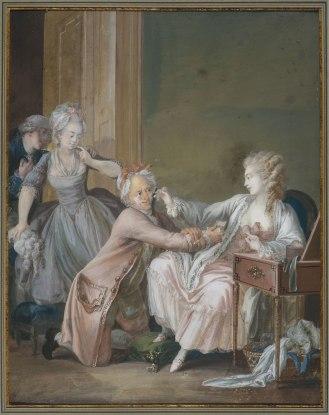 Antoine Borel, Le vieillard fardé,