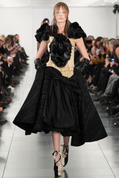 """Look 8: John Galliano for Maison Martin Margiela is also on the second place. He worked his dresses in a way to show the creative process which """"always inspires him"""", like if the dresses were not finished. Brilliant."""