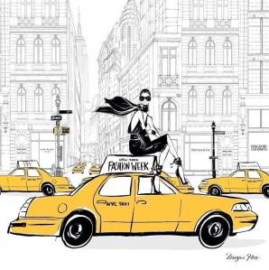 NYFW seen by fashion illustrator Megan Hess